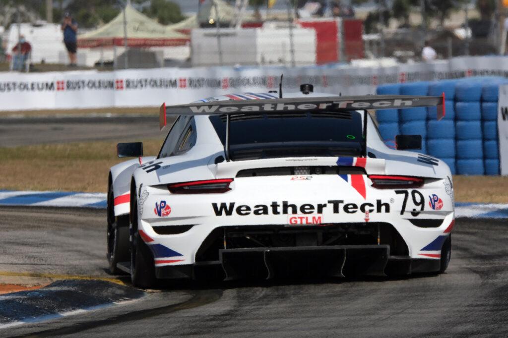 WeatherTech Porsche 911 RSR. [Jack Webster Photo]