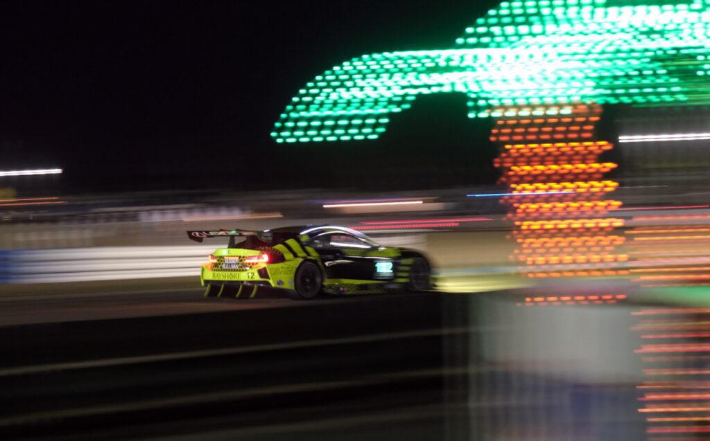 Night racing at Sebring. [Jack Webster Photo]
