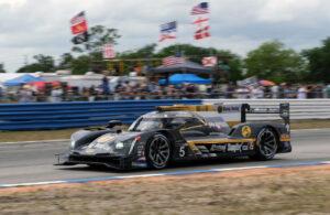 Race winning Mustang Sampling/JDC Cadillac. [Jack Webster Photo]