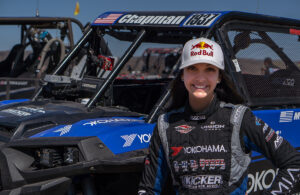Professional off-road racer and Red Bull athlete Mia Chapman