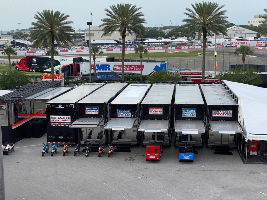 Ganassi's strong presence. [Photo by Eddie LePine]