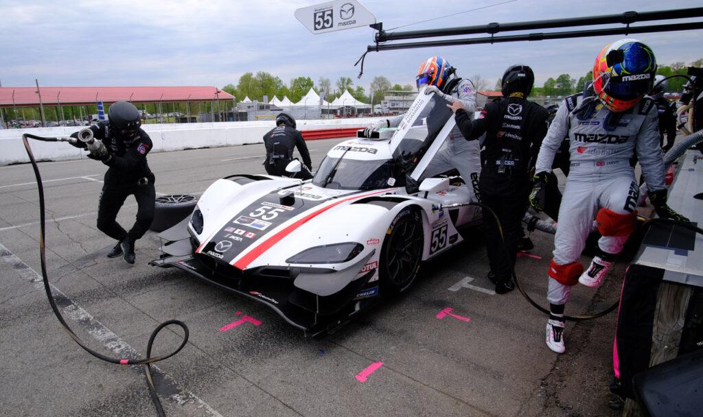 Pole winning Mazda DPi. [Photo by Jack Webster]