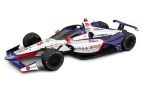Stefan Wilson's 2021 Indianapolis 500 ride, with LOHLA SPORT and Andretti Autosport.