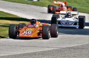 Vintage Indy joins the NTT INDYCAR Series this weekend at Road America. [John Wiedemann Photo]