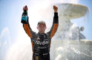 Pato O'Ward - Chevrolet Grand Prix of Detroit. [Photo by: Joe Skibinski]