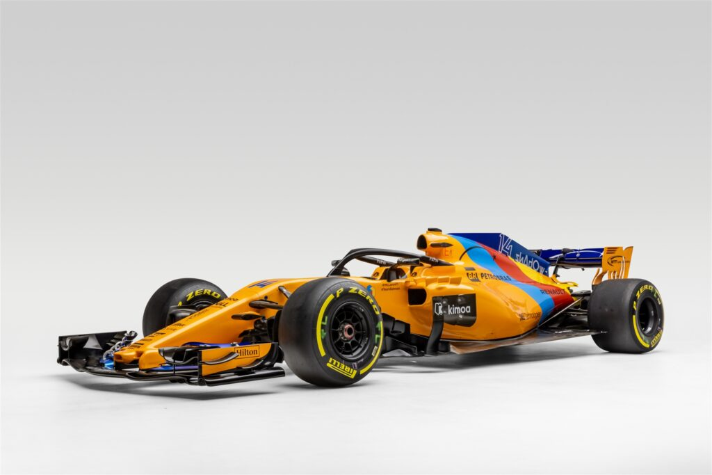 2018 McLaren MCL33