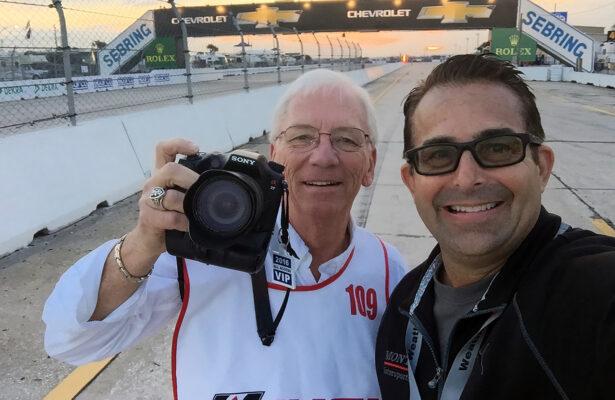 Jack Webster and Eddie LePine. [Photo by Eddie LePine]