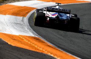 Nikita Mazepin, Uralkali Haas F1 Team, Sunday at the Dutch Grand Prix (Photo by Zak Mauger / LAT Images)