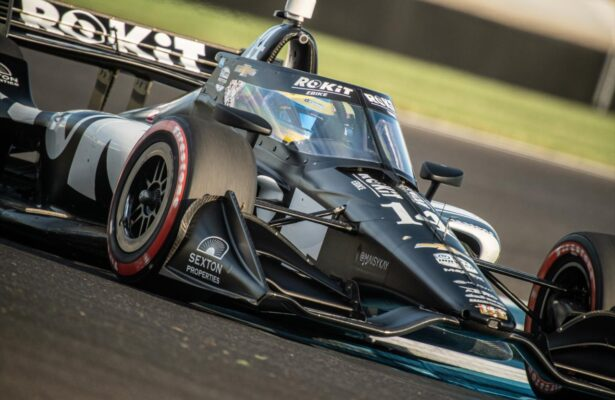 Sebastien Bourdais has seven starts at Portland International Raceway, most among this weekend's entered drivers. [Photo by: Karl Zemlin]